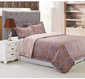 Superior Hillcrest Reversible 300 Thread Count Cotton Reactive Print Duvet Cover Set
