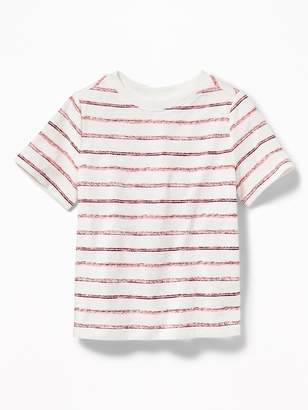 Old Navy Striped Crew-Neck Tee for Toddler Boys