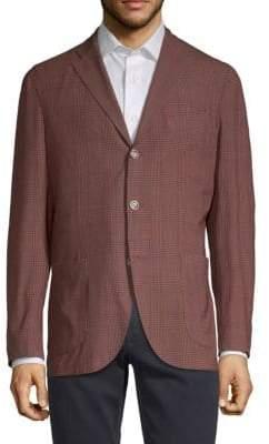 Boglioli Wool Check Sport Jacket