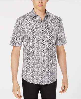 Alfani Men's Penguin-Print Shirt