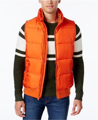 Tommy Hilfiger Big and Tall Men's Puffer Vest $159 thestylecure.com