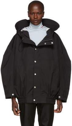 Chen Peng Black Windproof Double Layer Jacket