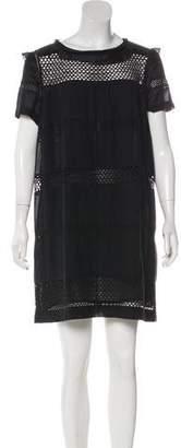 Isabel Marant Short Sleeve Embellished Dress