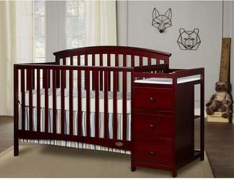 Dream On Me Niko 3-in-1 Convertible Crib and Changer Combo