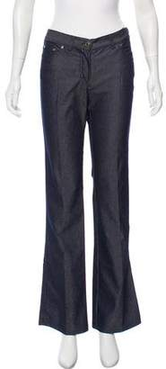 Les Copains Mid-Rise Flared Jeans w/ Tags