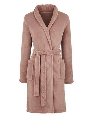 Pretty Secrets Fluffy Fleece Gown 38in