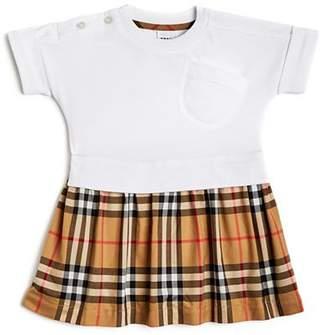 Burberry Girls' Ruby Check Skirt Dress - Baby
