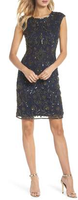 Pisarro Nights Sequin Sheath Dress