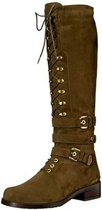 Stuart Weitzman Women's Policelady Knee High Boot,7 Medium US