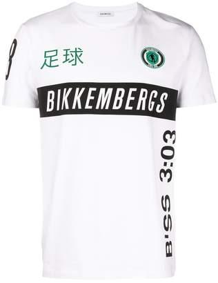 Dirk Bikkembergs logo print T-shirt