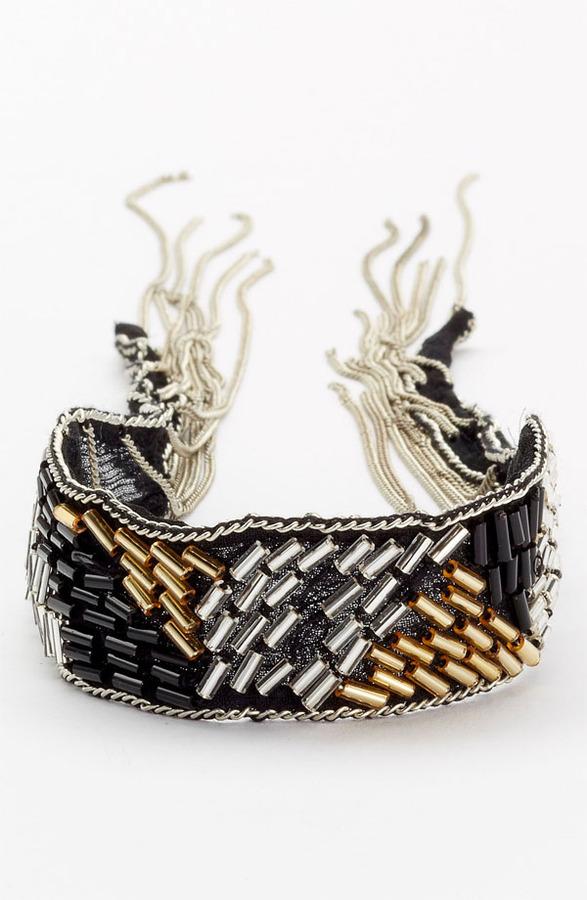 Chan Luu Silk Chiffon Tie Bracelet