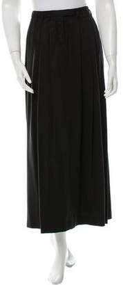 Robert Rodriguez Pleated Midi Skirt