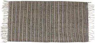 One Kings Lane Vintage Striped Moroccan Beni Ourain Handira