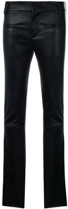 Haider Ackermann skinny side band trousers