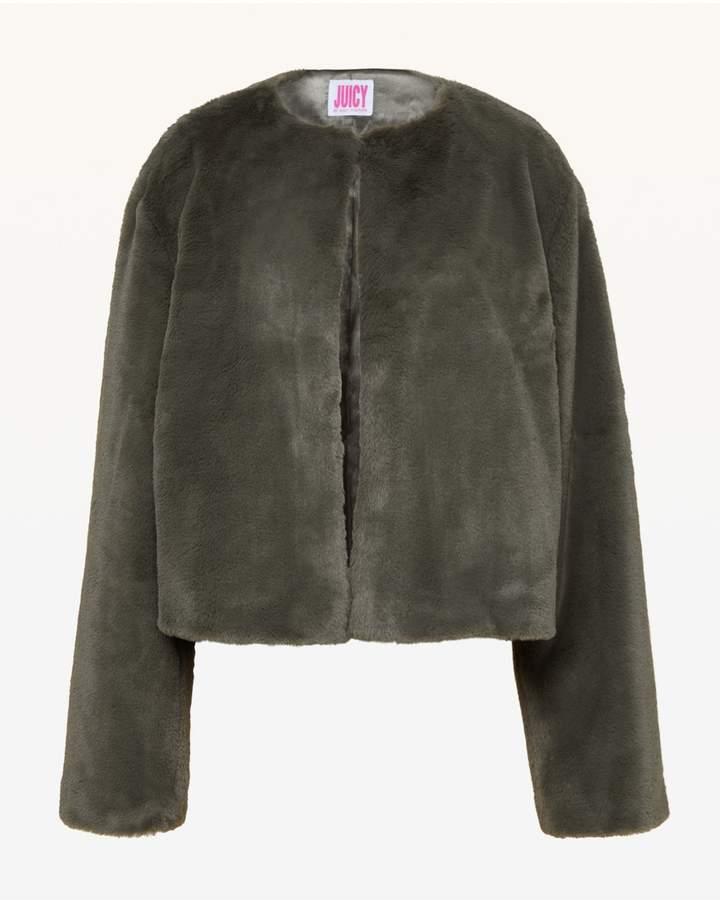 JXJC Faux Fur Jacket