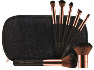 NEW Nude By Nature Essential Collection 7 Piece Brush Set