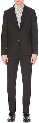 Paul Smith Mens Charcoal Buttoned Practical Suit
