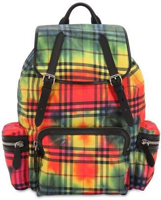 Burberry Sprayed Nylon Backpack