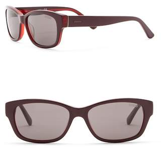 GUESS 54mm Rectangle Sunglasses