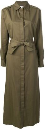 Harris Wharf London maxi shirt dress