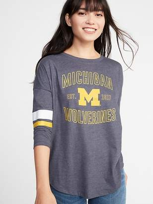 Old Navy College-Team Graphic Drop-Shoulder Tee for Women
