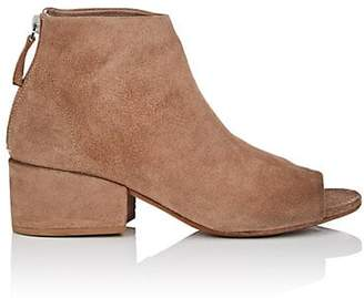 Marsèll Women's Suede Ankle Boots - Brown