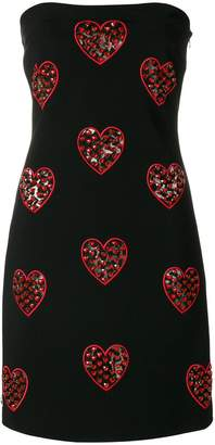 Philipp Plein embroidered sleeveless dress