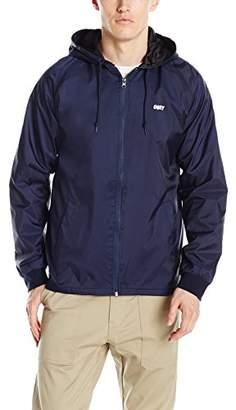 Obey Men's Visual Stimulaltion Coaches Jacket