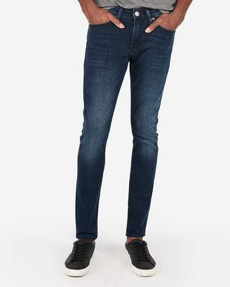 Express Super Skinny Stretch Dark Wash Jeans