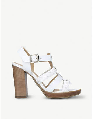 Carvela Krill leather heeled sandals