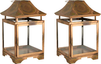 Elk Lighting 2Pc Bali Outdoor Lantern Set