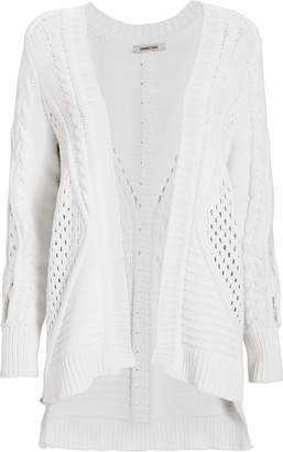 Cushnie Cable Knit Oversized Cardigan