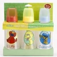 Sesame Street Baby King 3 Pack 9 Oz. Baby Bottles