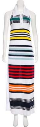 Rosie Assoulin Halter Maxi Dress White Halter Maxi Dress