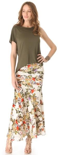 Haute Hippie Long Skirt