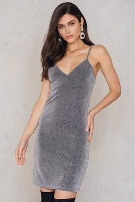 Na Kd Party Glittery Slip Dress