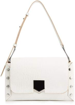 Jimmy Choo Medium Leather Lockett Shoulder Bag