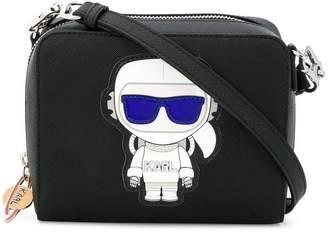 Karl Lagerfeld K/Space 2-in-1 cross body bag