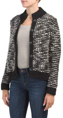 Made In Italy Textured Cardigan