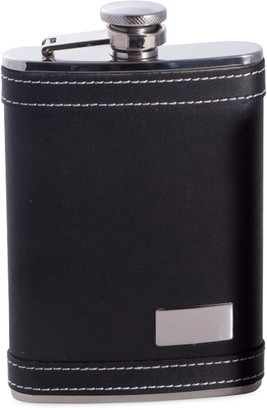 Bey-Berk Bey Berk Stainless Steel & Leather Flask