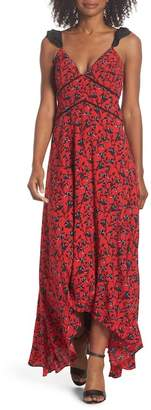 Adelyn Rae Isabel Floral Maxi Dress