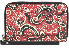 Marc Jacobs Printed Leather Wallet