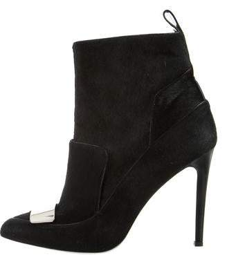 Jason Wu Ponyhair Pointed-toe Ankle Boot