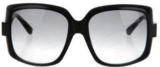 Christian Dior Christian Dior Tinted Square Sunglasses