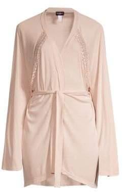 e65f83558e ... Cosabella Sweet Dreams Lace-Trim Robe
