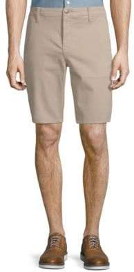 Joe's Jeans Stretch-Cotton Flat Front Shorts