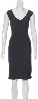 Alaia Virgin Wool Knee-Length Dress