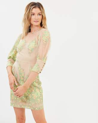 c982e5110133 High Neck Lace Dress - ShopStyle Australia