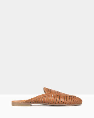 betts Drifter Woven Leather Loafers
