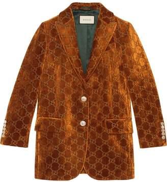 40ca9f82d Gucci Velvet Jacket - ShopStyle UK